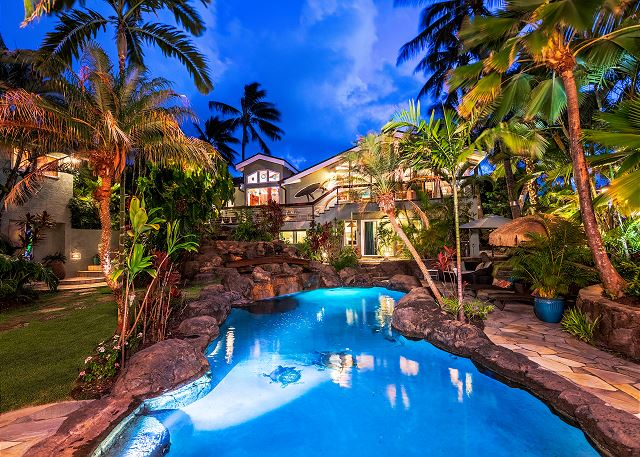 palione papalanie private homes hawaii