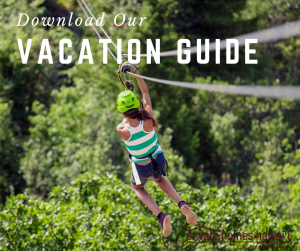 best zipline big island  text reads download our vacation guide