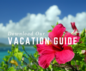 botanical garden on the big island tropical hibiscus text reads download our vacation guide