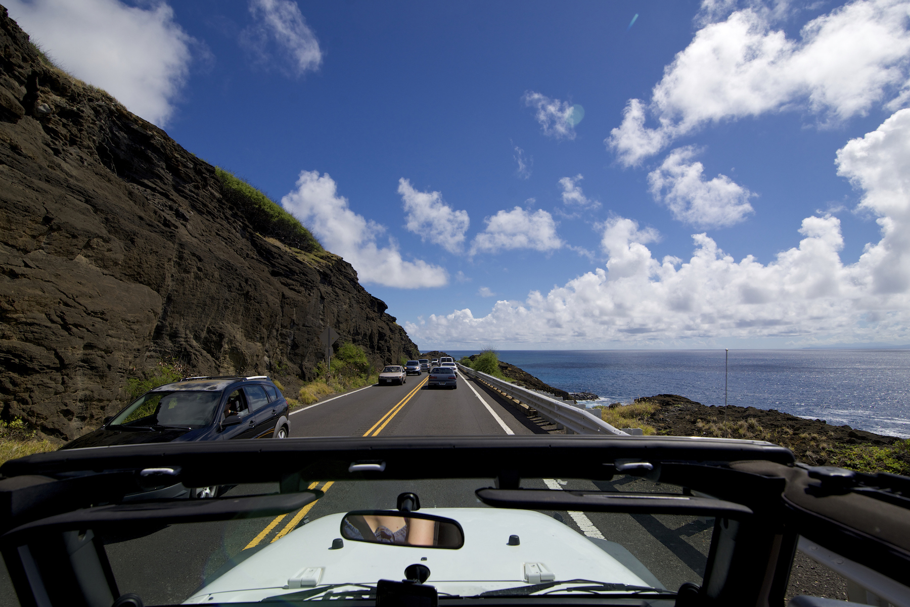 Scenic Drive in Hawaii - one of the world's best road trips.